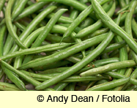 cooked green beans - yum!